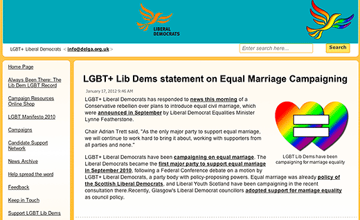 Now they are LGBT+… are the UK's Liberal Democrats moving towards overt intersex inclusion?